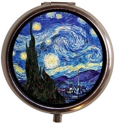 Starry Night Fine Art Austin Mall Pill 2021new shipping free Box Case Painting