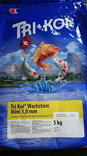 Tri Koi Wachstum Mini - Qualitäts-Koifutter - 3 mm (5 kg)
