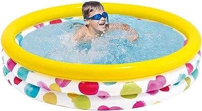 aheadad Piscinas hinchables redondas para niños, piscinas hinchables, hogar, resistentes al desgaste, bolas marinas gruesas, para niños, bebés, bebés, exteriores, jardín, patio trasero