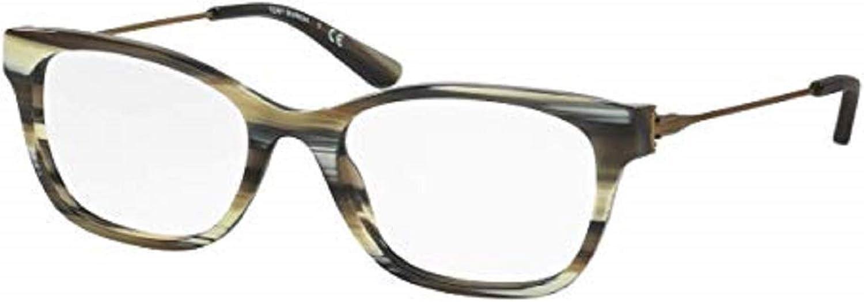 Tory Burch TY2063 Eyeglass Frames 155353  Olive Horn vintage gold