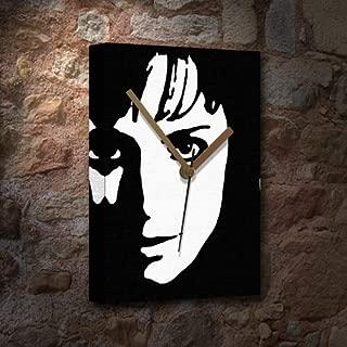 Seasons Erica Durance - Pop Art Canvas Clock (A5 - Signed by The Artist) #jb001