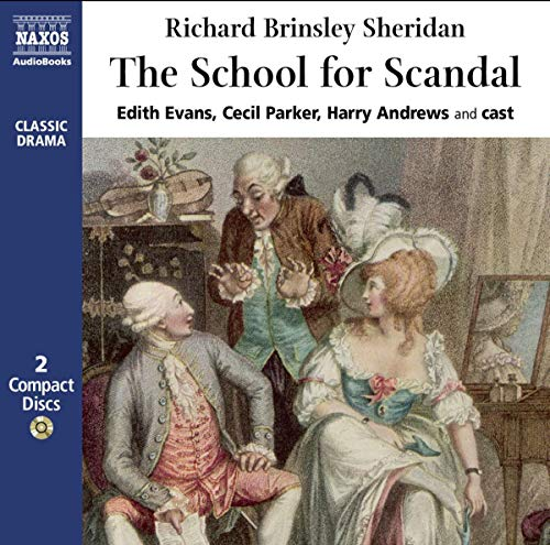 『The School for Scandal』のカバーアート