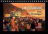 La Gomera - Insel der Glückseligen (Tischkalender 2019 DIN A5 quer): La Gomera - die etwas andere Kanarische Insel (Monatskalender, 14 Seiten )