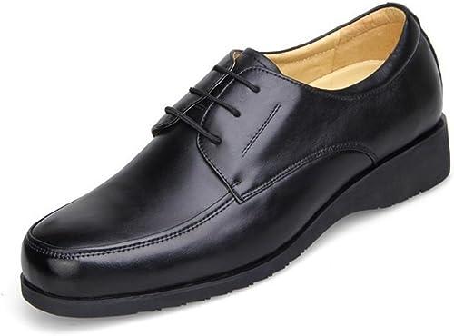 Homme Entreprise Chaussures en cuir VêteHommests de cérémonie Bottes Chaussures d'outillage Confortable Chaussures plates Antidérapant Fond épais EUR TAILLE 38-43