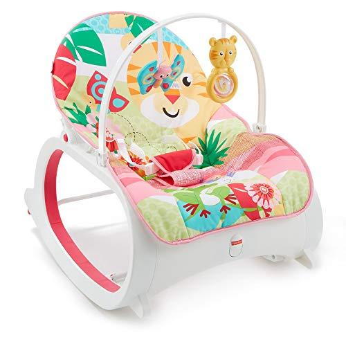 Fisher-Price FMN40 Crece conmigo selva - Hamaca para bebé recién nacido