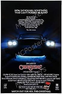 MCPosters - Christine John Carpenter Glossy Finish Movie Poster - MCP821 (24