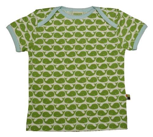 Loud and Proud Loud + Proud Unisex - Baby T-Shirts Tierdruck 204, Grün (Moos ), 110/116