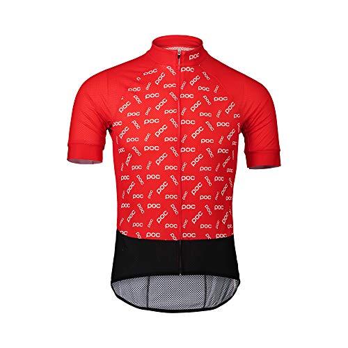 POC Erwachsene T-Shirt Essential Road Logo Jersey M Polka poc prismane red
