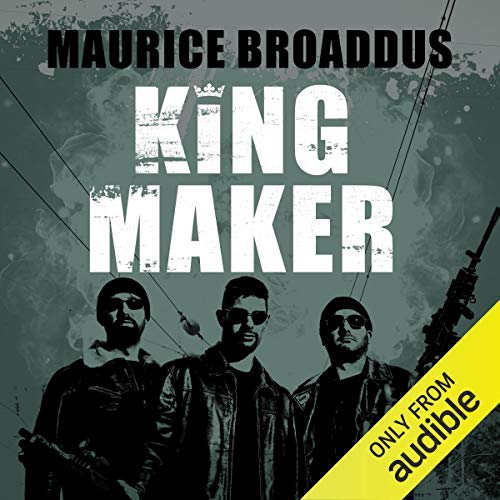 King Maker     Knights of Breton Court, Book 1              By:                                                                                                                                 Maurice Broaddus                               Narrated by:                                                                                                                                 Neal Sutherland                      Length: 11 hrs and 6 mins     3 ratings     Overall 4.0