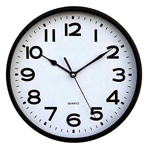 Inalsa Reloj, Blanco y Negro, 25.00x25.00x4.30 cm