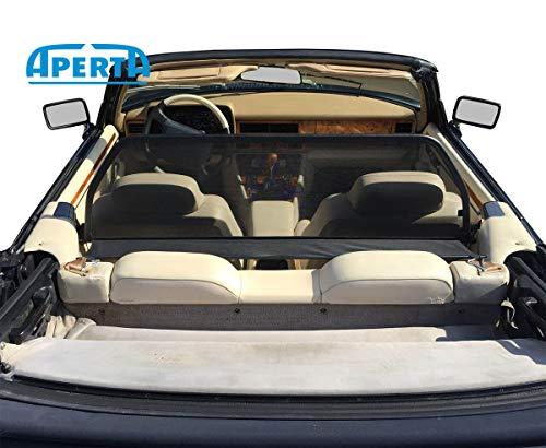 Aperta Windschott passend für Jaguar XJS 100% Passgenau OEM Qualität Schwarz Windstop Windabweiser