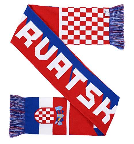 National Soccer High-Definition HD Knit Scarf (Croatia)
