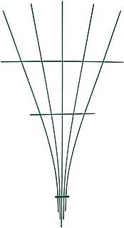 Fiberglass Fan Trellis, 5-foot (Green)