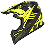 ZHXH Casco de motocross, cubierta completa de fibra de carbono Four Seasons transpirable desmontable casco de rally ligero, certificación Dot/ece,