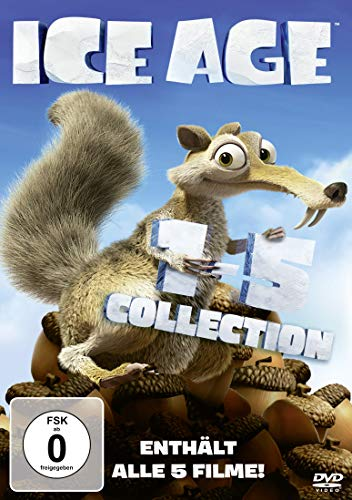Ice Age 5 Filme Collection [5 DVDs]