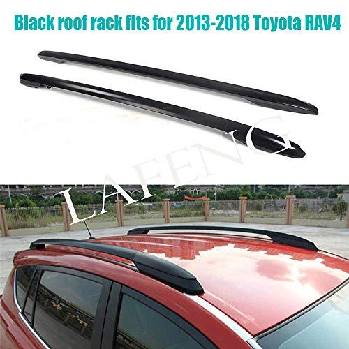 LAFENG Dachträger für Toyota RAV4 2013-2018 2 Stück Aluminiumlegierung Gepäckträger Dachträger Dachträger Dachträger Dachreling
