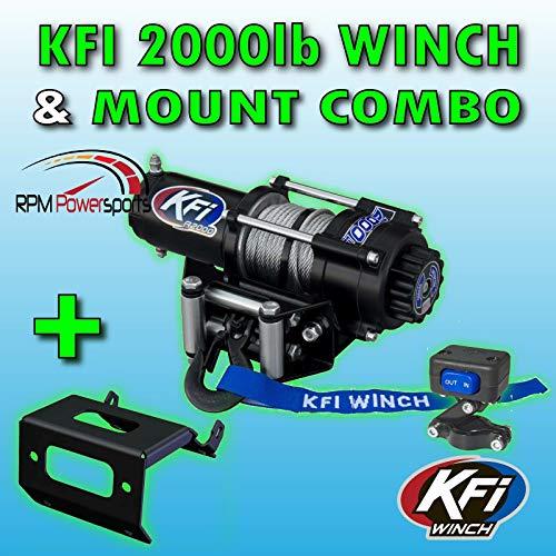 RPM KFI 2000 lb. Winch Mount Kit '15-'17 Arctic Cat 500/550 / 700 Alterra (XR)