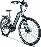 TechniBike CITY 28 Zoll E-Bike (Pedelec, Elektrofahrrad, Citybike, 450Wh Continental Akku,...
