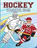 Hockey Coloring Book: Hockey Beautiful Simple Designs Coloring Books For Adults, Teenagers Awesome Exclusive Images
