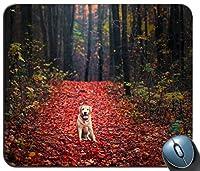 ラブラドールレトリバー犬のマウスパッド