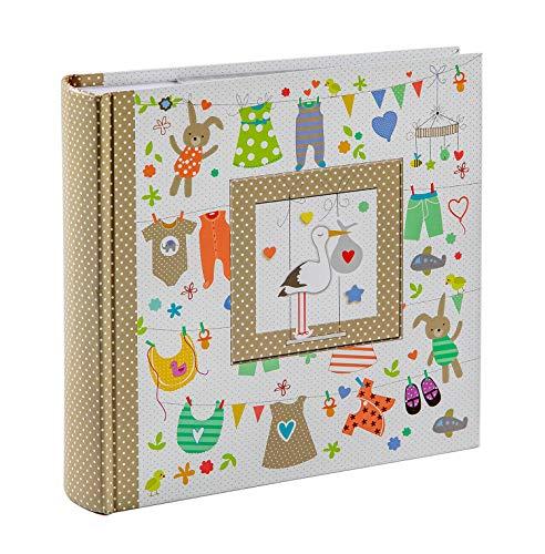 Edian Memo Photo Album 4x6 200 Photos, Family Baby Kids Cute Photo Album with Writing Space Illinois
