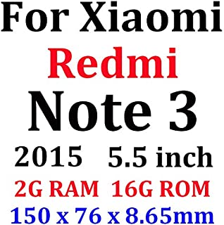 GHQQ 2pcs Toughened Protective Film Tempered Glass for Xiaomi Hongmi 4 Pro 4A Redmi 4X 5 Plus 3 Note 3 2 Full Cover Screen...