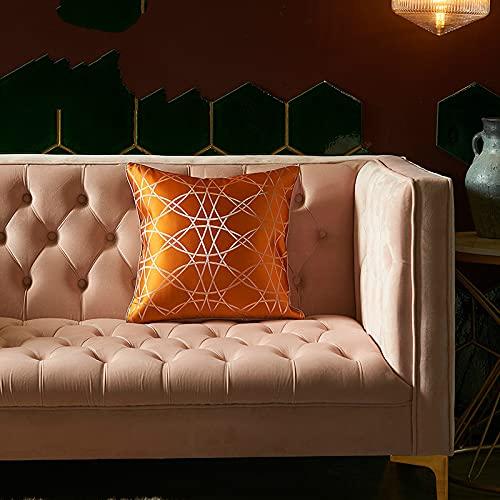 KLily Gedruckter Quadratischer Dekorativer Kissenbezug, Moderner Kissenbezug Für Zu Hause, Dekorativer Sofakissenbezug, Waschbares Material
