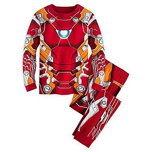 Pijama para bebé con Dibujos Animados y diseño de Capitán América