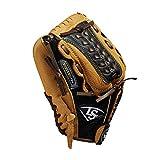 Louisville Slugger 11.5-Inch FG Genesis Baseball Infielders Glove, Brown, Left Hand Throw