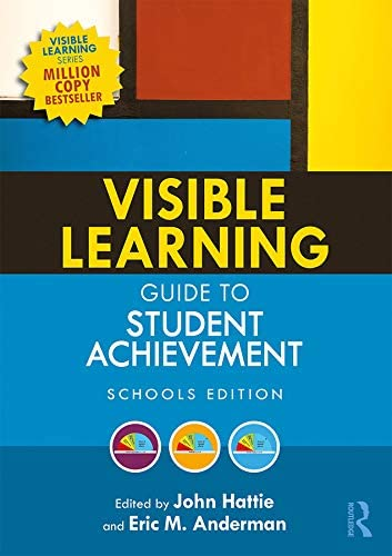 Visible Learning Guide to Student Achievement Schools Edition product image