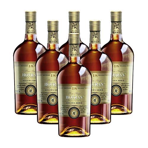 Ron Botran 18 de 70 cl - D.O. Guatemala - Bodegas Gonzalez Byass (Pack de 6 botellas)