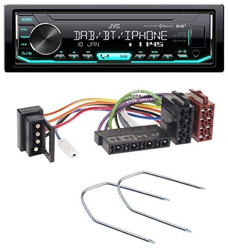 caraudio24 JVC KD-X451DBT DAB Bluetooth MP3 USB Autoradio für Mercedes E-Klasse W124 S-Klasse W126