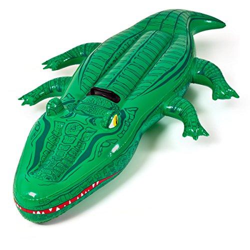 Matelas bouée gonflable forme crocodile 168x79 cm