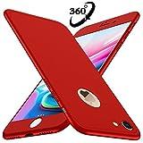 Coque iPhone 7 Losvick Housse PC Matière [360 degrés Protection] 3 en 1 Ultra Étui Mince Matte Case Anti Choc, Bumper...