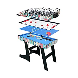 Devessport Mesa Multijuego 5 en 1. PL2258: Amazon.es: Juguetes y juegos