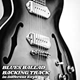 Blues Ballad Guitar Backing Track in Bb (A#) Minor