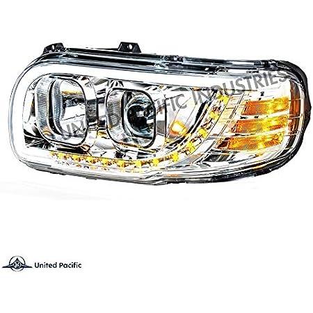 2010 Peterbilt MODEL 388 Side Roof mount spotlight LED 6 inch -Chrome Driver side WITH install kit