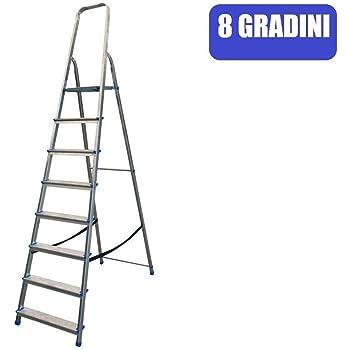 Marchetti Stella Basic 08 - Escalera doméstica (8 peldaños, 163 cm): Amazon.es: Bricolaje y herramientas