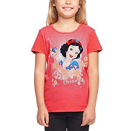 Blancanieves Disney Princesa Kids T-Shirt Cuento de Hadas Dreaming Cotton Red - 110
