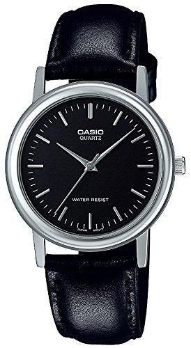 [カシオ] 腕時計 スタンダード MTP-1403L-1AJF メンズ ブラック