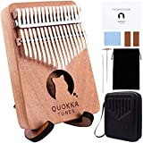 Kalimba Thumb Piano 17 Keys - Finger Piano with Protective Case & Stand, Portable Musical Instrument for Adults Beginners, Music Gifts for Kids; Designed in Australia