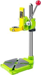 AMYAMY Floor Drill Press/Rotary Tool Workstation Drill Press Work Station/Stand Table for Drill Workbench Repair,drill Press Table,Table Top Drill Press90° Rotating Fixed Frame