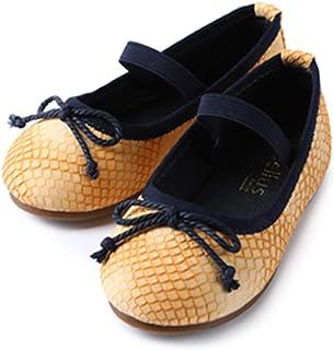e70d47ed332 ContiKids Girls Flower Mary Jane Ballerina Flat Shoes (Toddler Little Kid)