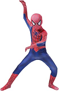 Spiderman Costume Halloween Siam Tights Party Movie Props Role Play Mannequins,Kids-S