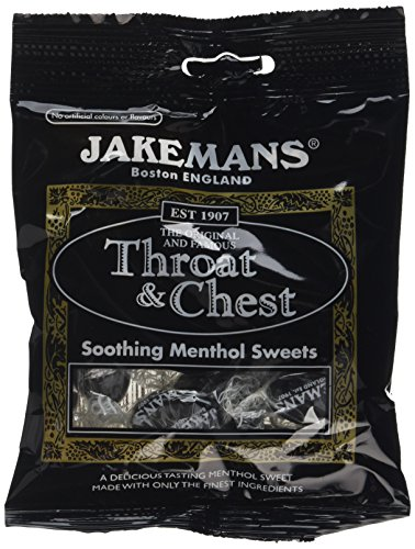 Jakemans sore throat lozenges  - best selling lozenges