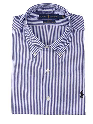 Polo Ralph Lauren Camicia Popeline a Righe Slim-Fit Uomo MOD. 710705269 S