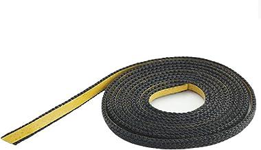 KS24 Glasband zwart 10x2 platte zak á 2m