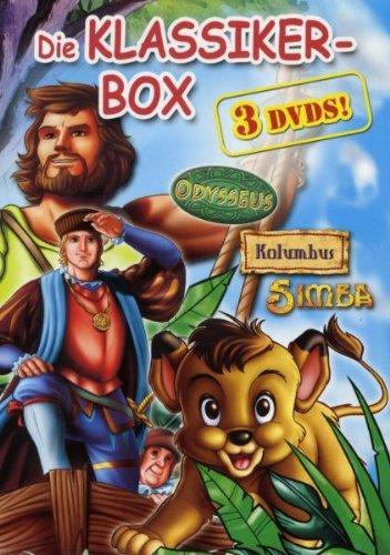 Die Klassiker-Box (3 DVDs: Odysseus, Kolumbus & Simba)