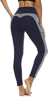 Halcurt High Waist Yoga Pants for Women,Yoga Leggings,Tummy Control Yoga Leggings with Pocket,Workout Leggings