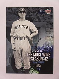BBM2014プロ野球80周年カード/投手編【97スタルヒン/巨人】記録の殿堂≪ベースボールカード≫